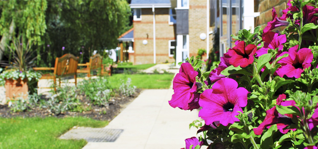 Claremont Lodge Care Home Gardens, West Sussex